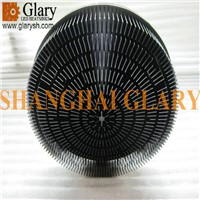GLR-PF-210037 210mm Round Aluminum Forged LED Heatsink