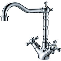Cross Handle / Bathroom Sink Faucet