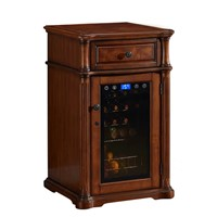 Solid Wood Living Room Refrigerator, Wine, Red Wine, Small Red Wine Cabinet, Refrigerated Cigar Cabinet, Household Tea