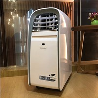 ZHILI Air Cooler Small Air Conditioning Appliances Mini Fans Cooling Fan Summer Conditioner Cold & Hot Wind