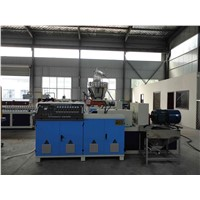 SJSZ-65 Conical Twin Screw WPC Production Line