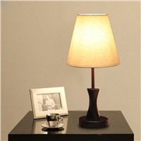 Simple Modern Wood Cloth Table Lamp, Hotel, Home Can Be Used, Remote Control, Can Also Do Decorations