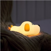Cute Pet Silicone Small Night Light for Children & Girls, Sleep Timing, Can Be Used as a Gift