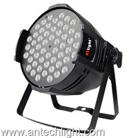 54LED x 3W RGBW Par Lights Great for Club, Dj Show, Home Party, Ballroom, Bands, Show Bar