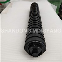 Rubber Ring Belt Conveyor Impact Roller for Coal Plant