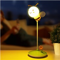 New Bee 3D Timing Dimming Desk Lamp for Students, Touch the Switch & Charge It