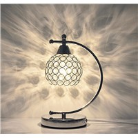 Modern Simple Crystal Creative Bedroom or Dining Room or Living Room Lamp, Romantic Warmth, Can Serve as a Gift