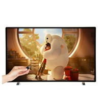 32 Inch LED Television Ultra-Thin Energy-Saving Flat-Panel High-Definition Integrated USB Playback Function for Hotel An