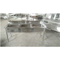 Supply 3bowls Stainless Steel Sink