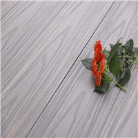 Outdoor Engineered Solid Decking WPC Wood Plastic Composite Flooring