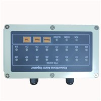 16 Conventional Repeater Display Panel RS485 Communications Works with Fire Alarm Control System Panel