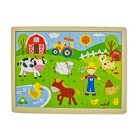 Educational Children Toy Wooden Puzzle
