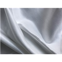 Pure Silk Cotton Satin Garment & Home Textile Fabric 30%Silk 70%Cotton Plain Dyed