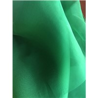 Pure Silk Organza Garment & Home Textile Fabric 100%Silk Plain Dyed