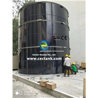 Cost-Effective Bolted Steel Tanks for Industrial Wastewater Treatment Project