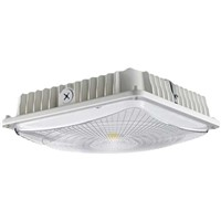 DLC Surface Mount LED Parking Garage Lights, 100-277vac, 60W LED Replacing 150W MH, 5 Years Warranty