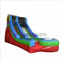 Wholesale Colorful Playground PVC Tarpaulin Inflatable Funny Games Home Water Slide