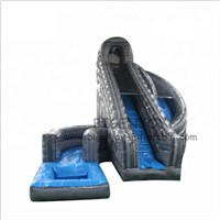 Outdoor Playground Inflatable Sports Equipment Inflatable Hurricane Water Slide