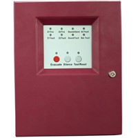2 Zone Mini Conventional Fire Alarm Panel Master Panel Alarm Host for Fire Alarm System