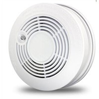 Battery Powered Photoelectric Smoke Alarm Standalone Smoke Sensor Fire Detector 9V for Home Safety