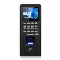 Biometrics Fingerprint Access Control with Time Attendanc Function, TCP/ IP, RS485 & USB, Fingerprint, 130000