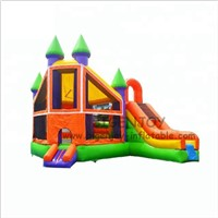 Factory Wholesale Cheap Inflatable Bouncer with Slide for Toddlers