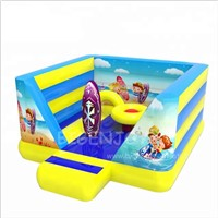 Customized Surfing Sport PVC Material Mini Cheap Inflatable Jumping Bouncer Baby Moon Bounce Commercial