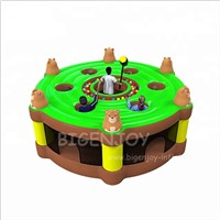 New Design Funny Inflatable Sport Game Combo Bouncer Human Whack a Mole Inflatable Games