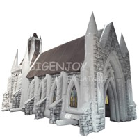 Cheapest Oxford Fabric Church Inflatable Tent For Parade Events & Party Supplies Store Promotion Advertising