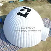 Free Logo Advertising White Inflatable Dancing Party Wedding Tent