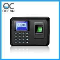 Biometric Fingerprint Attendance Machine with LCD Display, 100000 Record Capacity USB Disk