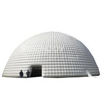 Largest Inflatable Sealed Airtight Waterproof Dome Tent for Outdoor Event Party & Exhibition