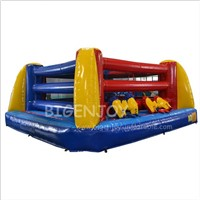 Cheap Air Wrestling Ring Gladiator Jousting Battle Arena Fighting Game Rentals Kids Mini Inflatable Boxing Rings