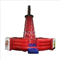 Indoor Outdoor Cheap Price Kids Climbing Game Mobile Used Large Portable Inflatable Rotating Rock Climbing Wall