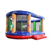 Indoor Outdoor Children Jumping Kids Sports Bouncing Playground Blow up Trampoline Park Amusement Park