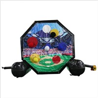Cheap Price Indoor Outdoor Giant Blow up Soccer Dart Board Safe Baseball Football Dart Ball Game Inflatable Foot Darts