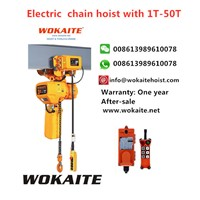 WOKAITE New Type Electric Chain Hoist With3Ton