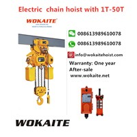 WOKAITE New Type Electric Chian Hoist with 10T