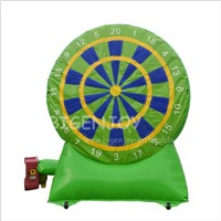 New Design Giant Funny Target Shoot Sports Equipment Inflatable Dart Board