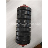 CEMA Standard Rubber Rings Coated Conveyor Impact Roller