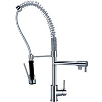 Sink Faucet Brass Chrome Hot & Cold Faucet