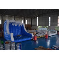 China Funny Mechanical Surf Simulator with Mattress/Inflatable Surfboard/Mechanical Surf Riding