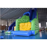Inflatable Slide with Pool & Dry Mat Stunt Jump Zero Shock Jumping Bag