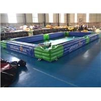 Indoor Huge Kick Shot Human Size Snook Ball Inflatable Snooker Football Field, Inflatable Billiards Soccer Pool