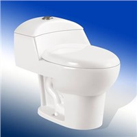 Modern Ceramic Sanitary Ware One Piece WC Dual Flush Toilet Portable Western Toilet