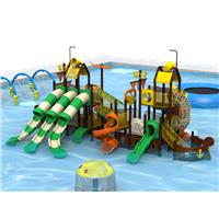 High Quality Water Park Equipment Playground Slides for Sale