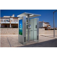 "55""Payphone Advertising Module Outdoor LCD DIGITAL SIGNAGE Player Display HD 1080P Brightness Control"