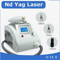 Q-Switched Nd Yag Laser Pigment Therapy & Tattoo Removal Machine