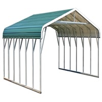 Sanhe Easy Assemble Galvanized Metal Carport / Steel Carport