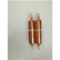 Copper Sieve Filter Drier Thus Protect the Refrigeration Cycle from Internal Damage